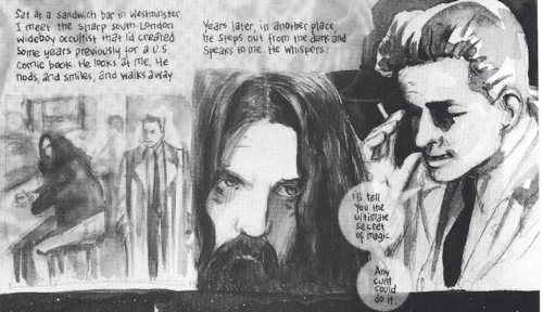 Eddie Campbell and Alan Moore