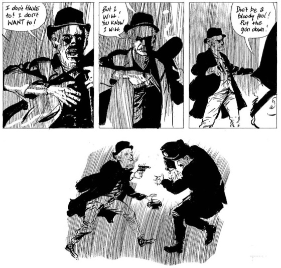 Michael Eaton and Eddie Campbell's story about notorious thief Charlie Peace