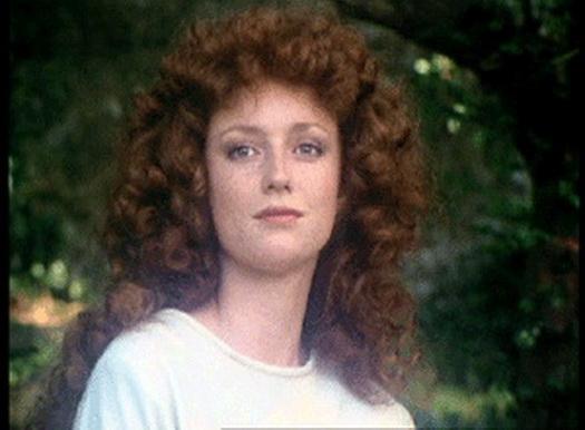 Judi Trott, mostly curls.