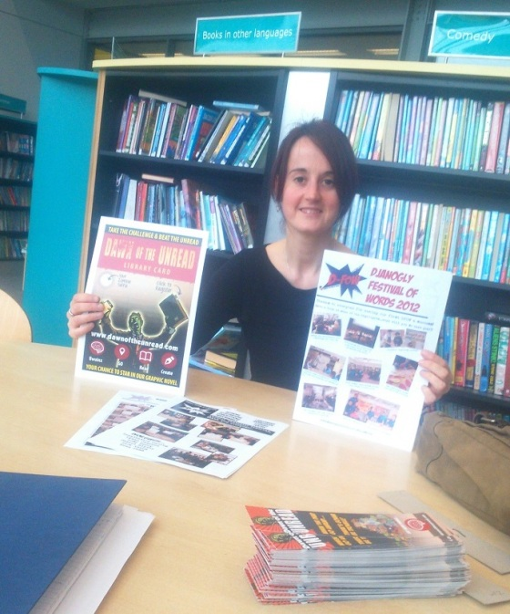 Laura Ewart, the inspirational school librarian at Djanogly Academy