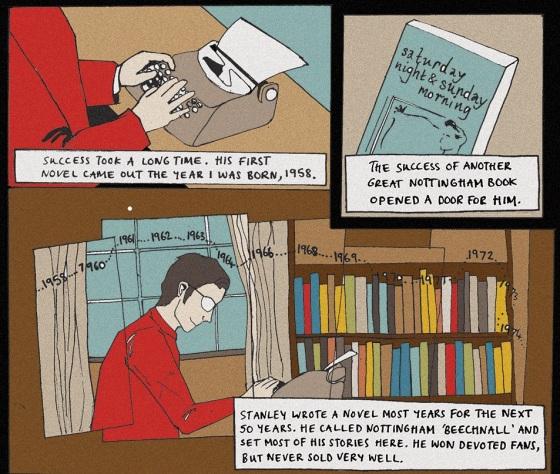 Artwork: Ella Joyce from our 'Shelves' comic.