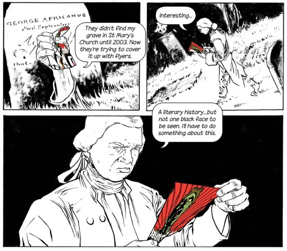 George Africanus throws a mard when he realises diversity is missing from our literary comic